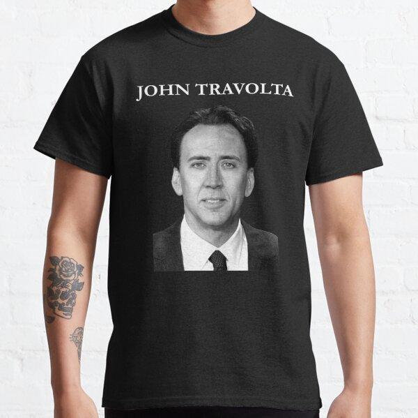 Nicolas Cage John Travolta Face Off Men's Women's Classic T-Shirt