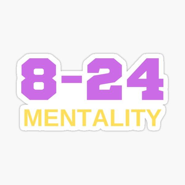 Mamba Mentality 8-24 Sticker