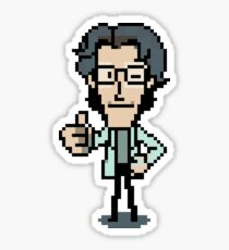 Otacon Thumbs-Up Sticker