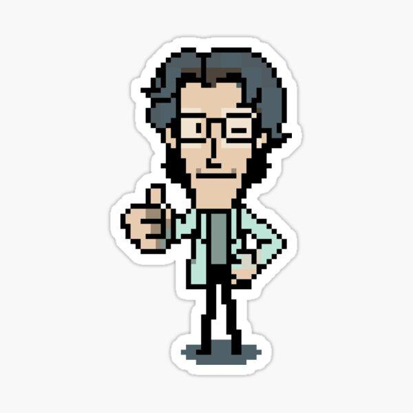 Otacon Thumbs-Up Sticker