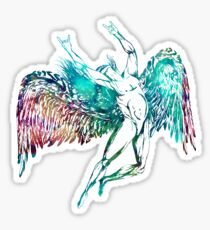 ICARUS THROWS THE HORNS - monet waters ***FAV ICARUS GONE? SEE BELOW*** Sticker