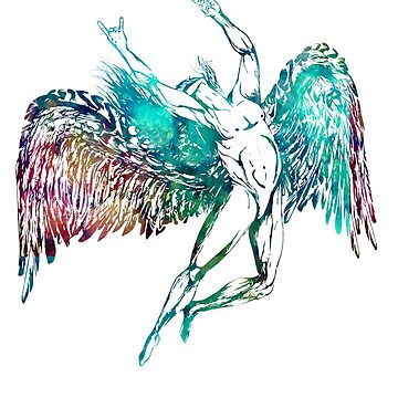 ICARUS THROWS THE HORNS - monet waters  ***find hidden gems in my portfolio*** by sleepingmurder
