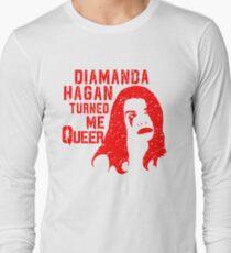 Diamanda Hagan Turned Me Queer (Red) T-Shirt