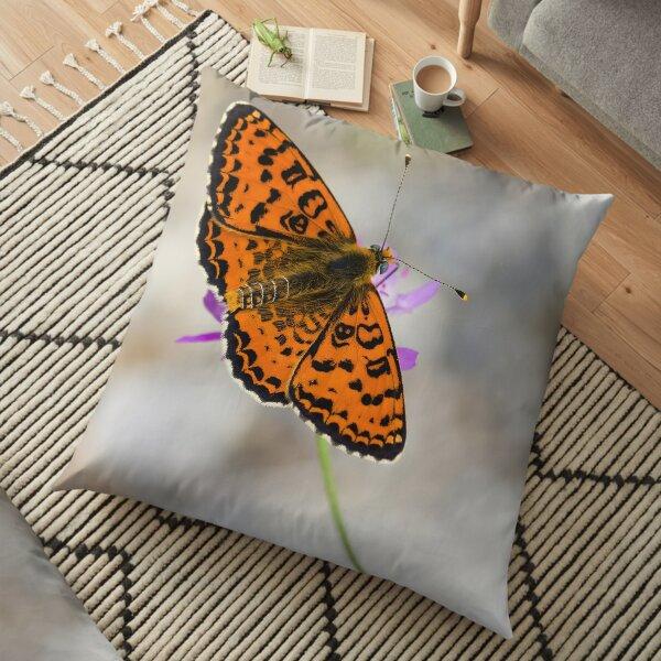 Melitaea didyma Floor Pillow