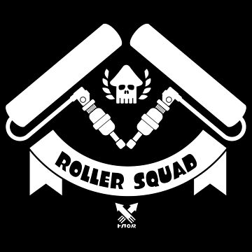 Splatoon Roller Squad de Frenchican