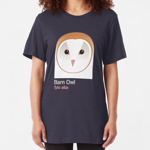 Barn Owl Slim Fit T-Shirt