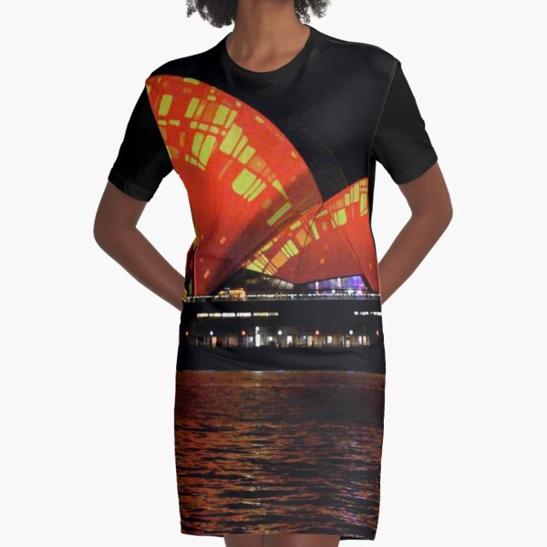 Vivid 2016 Opera House 25 Graphic T-Shirt Dress