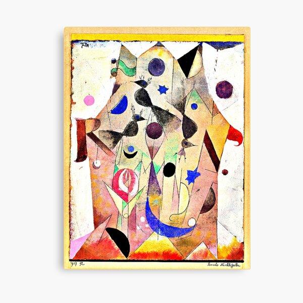 Persian Nightingales by Paul Klee Canvas Print