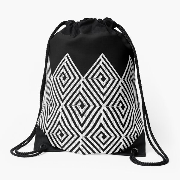 Zigzag Tribal pattern  Turnbeutel