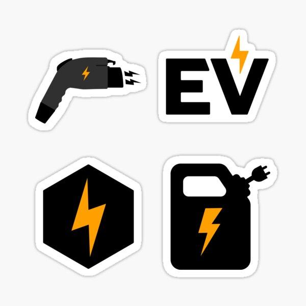 Pack d'autocollants EV Sticker