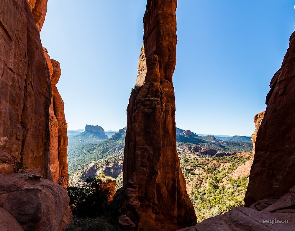 Cathedral Rock - Between The Spires by eegibson