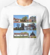 Cottages Collage T-Shirt