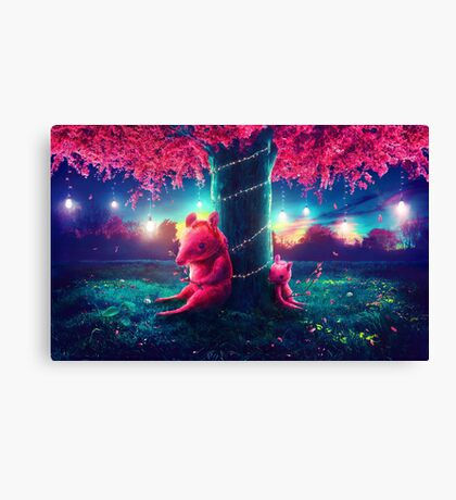 Roos Canvas Print