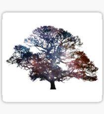 Galaxy Oak Tree Sticker