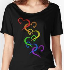 Hearts of PRIDE Women's Relaxed Fit T-Shirt