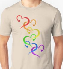 Hearts of PRIDE Unisex T-Shirt