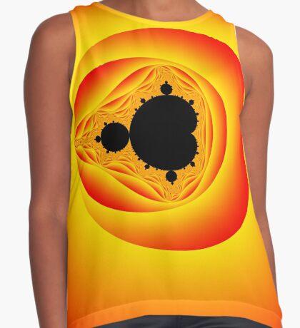 Solar Mandelbrot Sleeveless Top