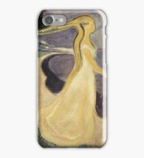 Edvard Munch - Separation. Munch - lovers. iPhone Case/Skin