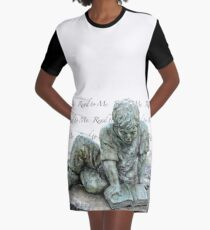 Read to me Graphic T-Shirt Dress
