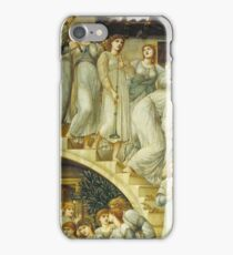Edward Burne-Jones  - The Golden Stairs 1880. Burne-Jones  - woman portrait. iPhone Case/Skin