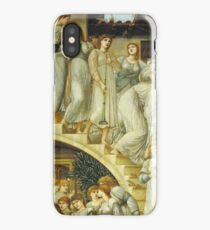 Edward Burne-Jones  - The Golden Stairs 1880. Burne-Jones  - woman portrait. iPhone Case/Skin