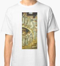 Edward Burne-Jones  - The Golden Stairs 1880. Burne-Jones  - woman portrait. Classic T-Shirt