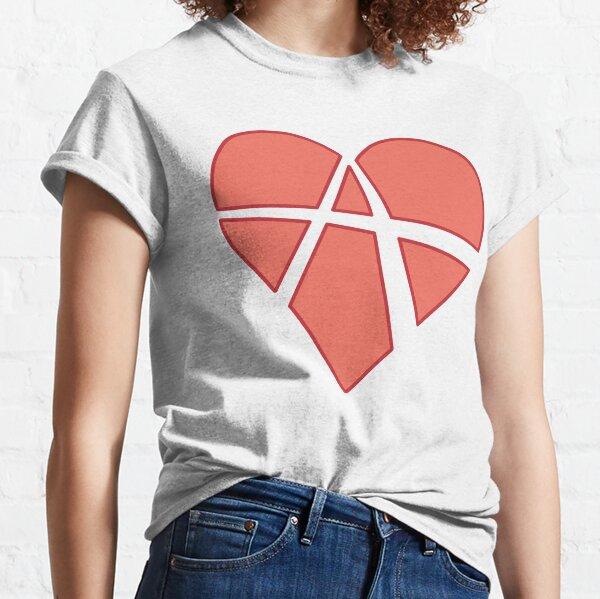 Relationship Anarchy Heart (black) Classic T-Shirt