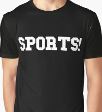 Sports - version 2 - white Graphic T-Shirt