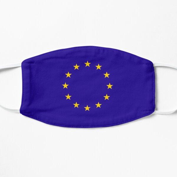 EU. European, Remainers, STARS, Flag, Euro, Flag of Europe, European Union, Flag, Brussels. Flat Mask