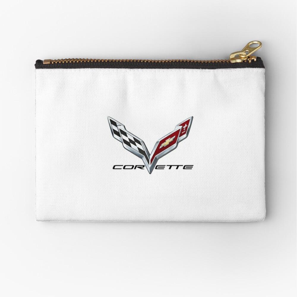 Corvette C7 logo Zipper Pouch