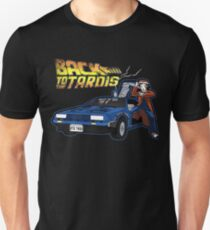 Doctor Who Back The Future T-Shirt