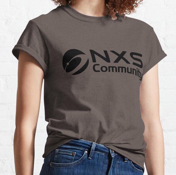 Copy of Nexus Official NXS Community Globe Black Classic T-Shirt