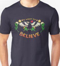 I Want To Believe Woodpecker Unisex T-Shirt