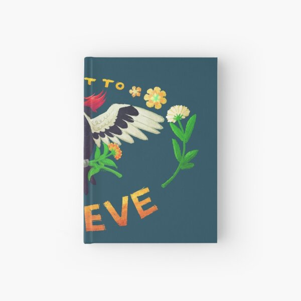 I Want To Believe Woodpecker Hardcover Journal