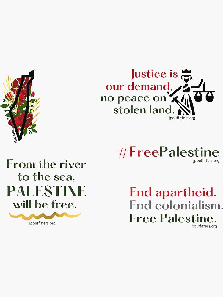 Free Palestine | Palestine Justice Pack by JPOutiffters