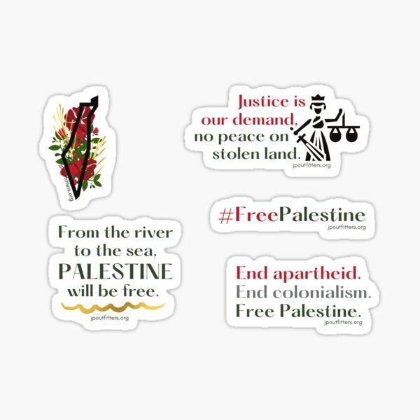 Free Palestine | Palestine Justice Pack Sticker
