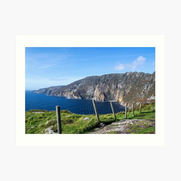 Slieve League in County Donegal, Ireland Art Print