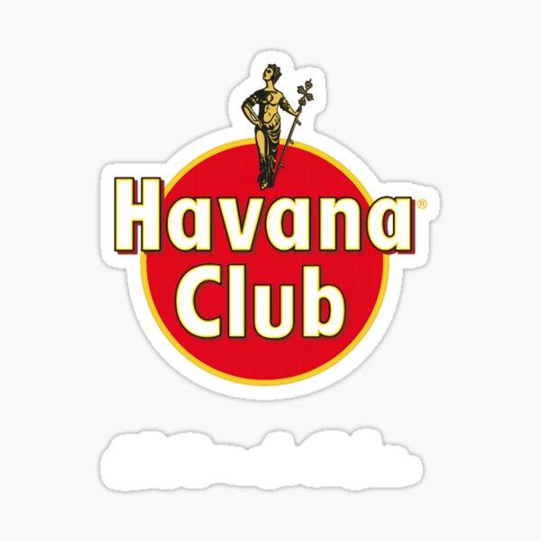 Sweat à capuche Havana Club Classic T-Shirt pour homme, Sticker
