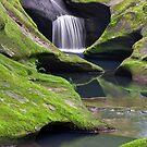 Upper Robinson Falls by Kenneth Keifer