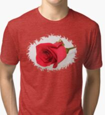 Let Me Call You Sweetheart ~ A Rose Tri-blend T-Shirt