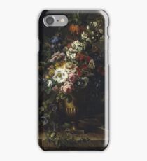 Francesc Lacoma Fontanet  - Gerro Amb Flors. Fragonard - still life with flowers. iPhone Case/Skin