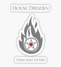 House Dresden - Stars and Stones Sticker