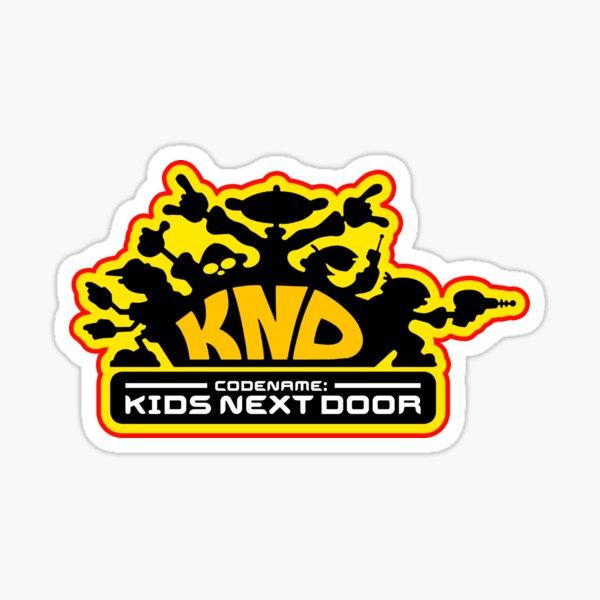 Codename: Kids Next Door Sticker