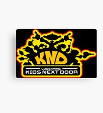 Codename: Kids Next Door Canvas Print
