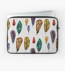 Lovely Feathers  Laptop Sleeve