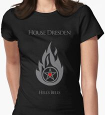 House Dresden - Hell's Bells Women's Fitted T-Shirt