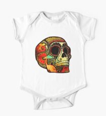 Grunge Skull Baby Body Kurzarm