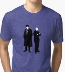 Holmes and Watson Tri-blend T-Shirt