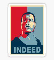 A Jaffa we can believe in Sticker