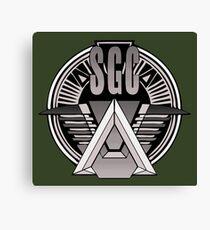 Stargate Command Canvas Print